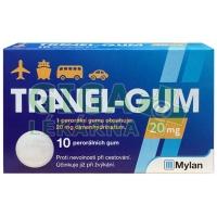Travel-Gum 20mg 10 žvýkaček