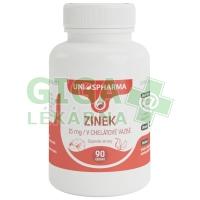 Uniospharma Zinek 15mg v chelátové vazbě 90 tablet