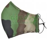 Obrázek Ústenka (rouška) textilní Woodland 1ks zel.