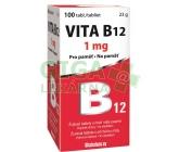 Vita-B12 1mg žvýkací tbl.100 s příchutí Máty CZ/SK