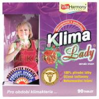 VitaHarmony KlimaLady pro období klimakteria 90 tablet