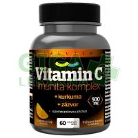 Vitamin C 500mg Imunita kurkuma + zázvor 60 tablet