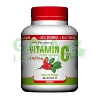 Vitamín C 500mg s šípky prodl.účinek tbl.90+30 Bio-Pharma