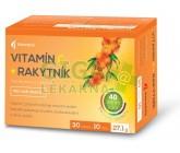 Obrázek Vitamín C + Rakytník tbl.30+10 Noventis