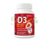 Vitamín D3 400IU pro děti - jahoda tbl.90