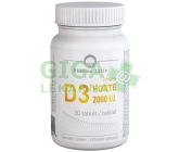 Vitamín D3 FORTE 2000 I.U. tbl.30