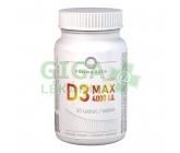 Vitamin D3 MAX 4000 I.U. tbl.30