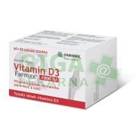 Vitamin D3 tob.60+30 ZDARMA Farmax