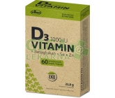 VITAR Vitamin D3 1000IU+betaglukan EKO cps.60