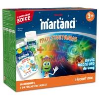 Walmark Marťánci Multivitamin MIX tbl.50+50+dárek