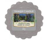 Yankee Candle vonný vosk Candlelit Cabin 22g