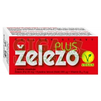 ŽELEZO Plus 60 tablet Naturvita