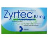 Obrázek Zyrtec 20 tablet